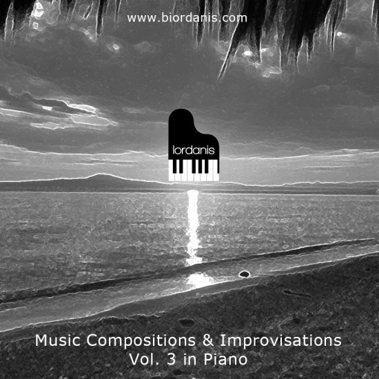 Music Compositions & Improvisations Vol. 3 in Piano (Front)
